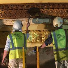 gilding and ceiling restoration