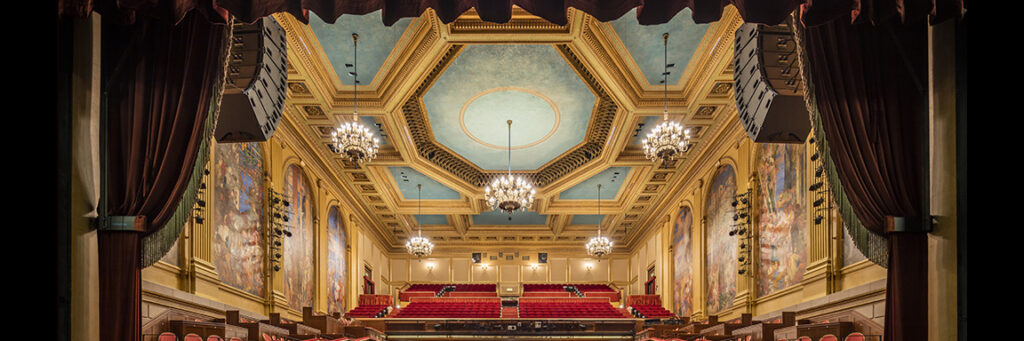 The preservation of historic theaters involves a broad range of specialty restoration and historic conservation services.