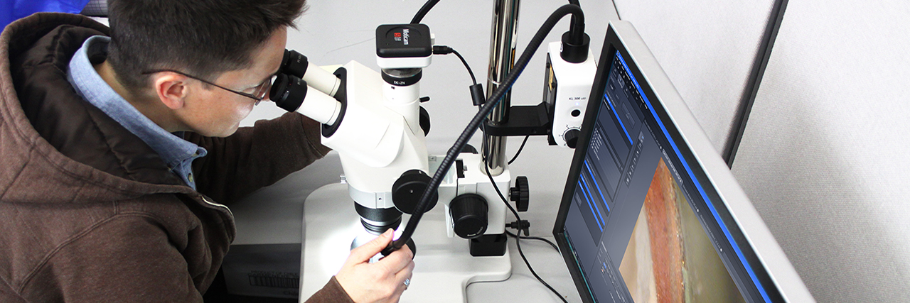 Investigative material testing and analysis determines a material's composition, condition, and helps understand the root cause for aging and deterioration.