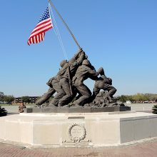 Iwo Jima Memorial - After Conservation Treatment