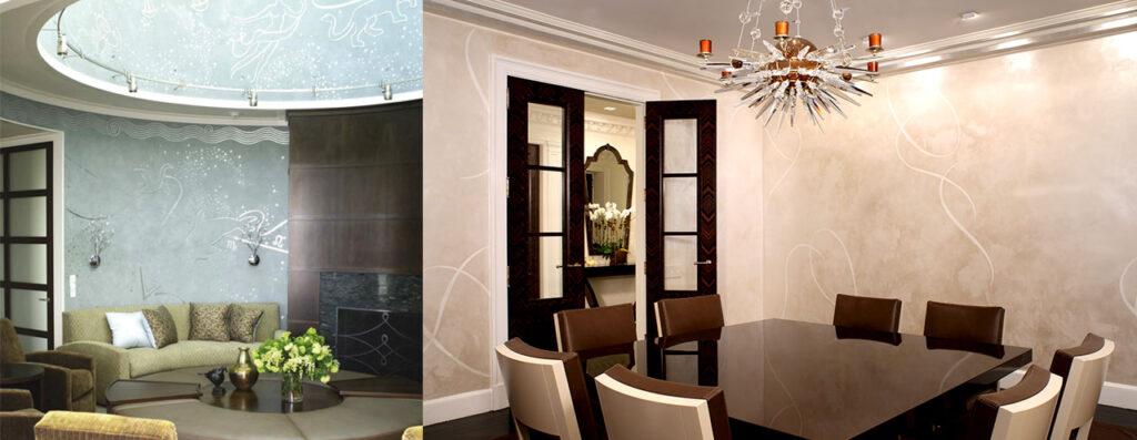 Venetian Plaster Design Installation Evergreene