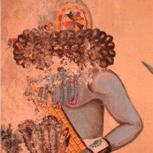 Zuni mural conservation