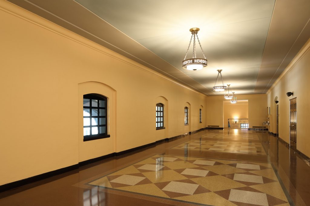 after auditorium restoration