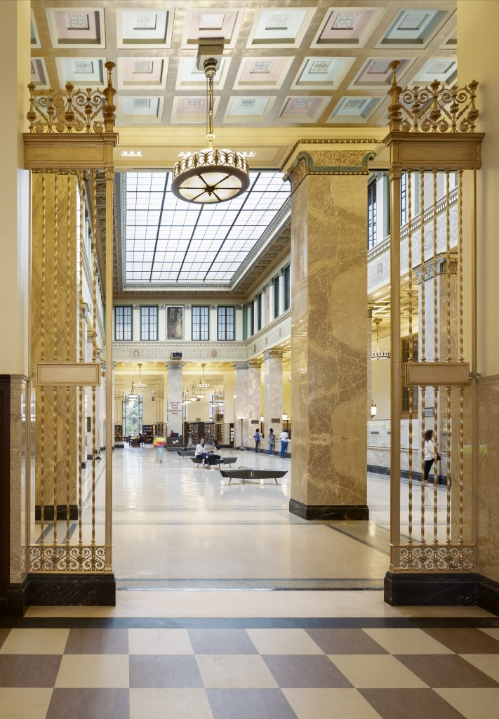 Enoch Pratt Free Library in Baltimore, Maryland   Photography by Joseph Romeo
