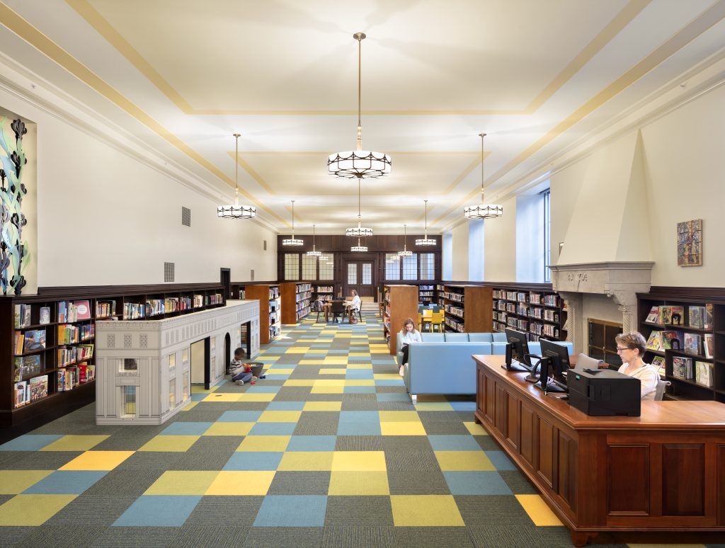 Enoch Pratt Free Library in Baltimore, Maryland | Photography by Joseph Romeo