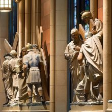 cathedral statuary after refinishing
