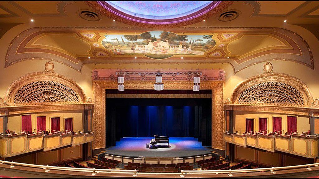 Clemens Center stage after restoration