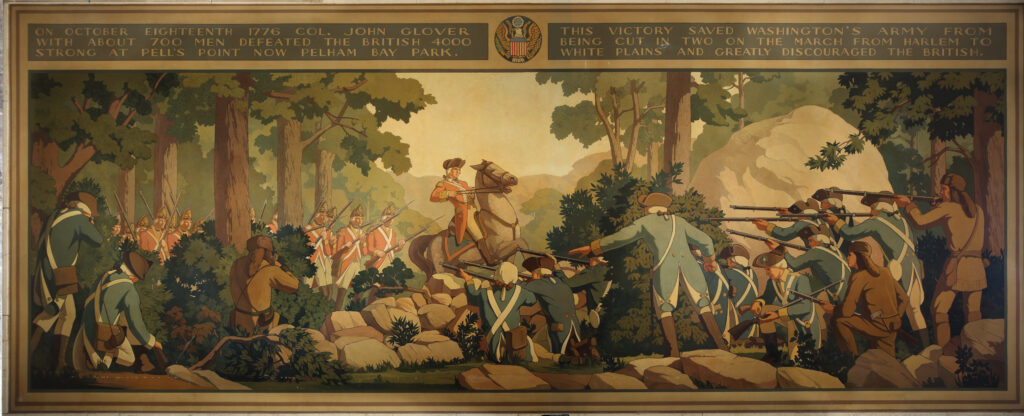 Bronx County Courthouse Mural