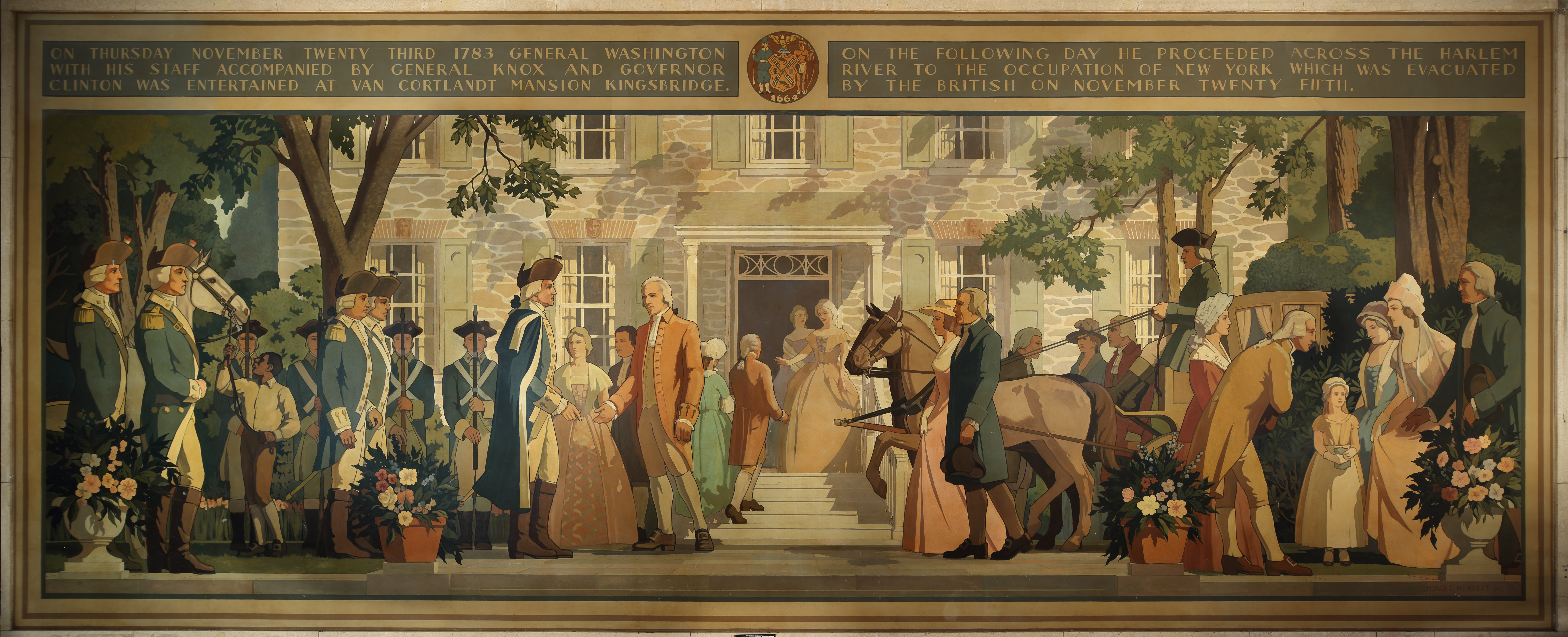 Bronx County Courthouse Murals