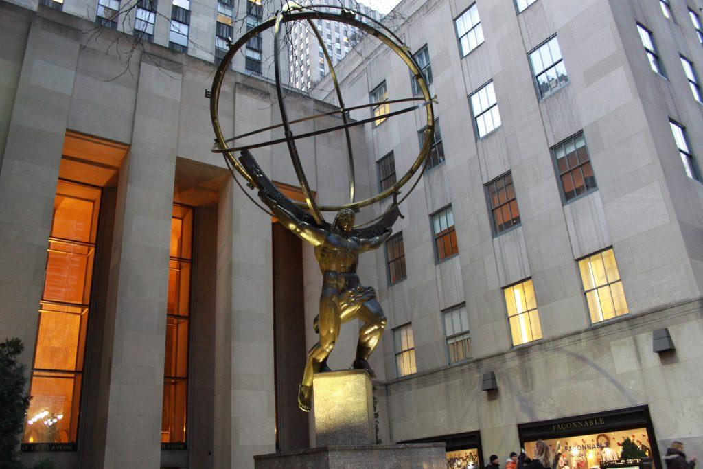 Atlas Statue, 45 Rock