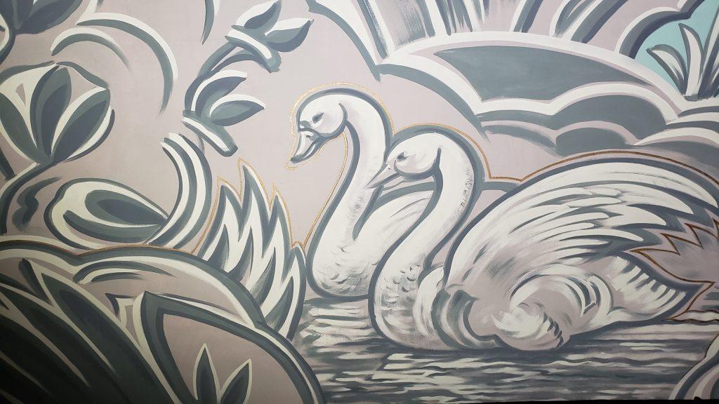 mural after restoration
