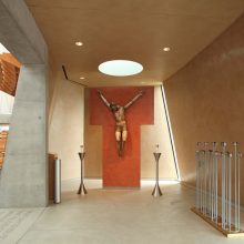 venetian plaster finish at Cathedral Christ of Light