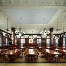 John Jay Dining Hall Ceiling, Columbia University, Photography ©2018 Whitney Cox