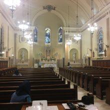 Butler Chapel plaster restoration