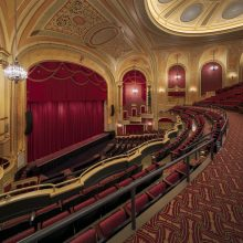 decorative plaster restoration at the Palace Theater