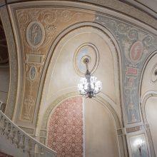 new plaster color scheme after restoration