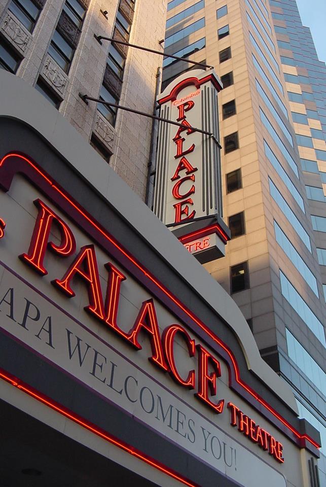 Palace Theatre Columbus facade