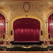 plaster restoration at the Palace Theater