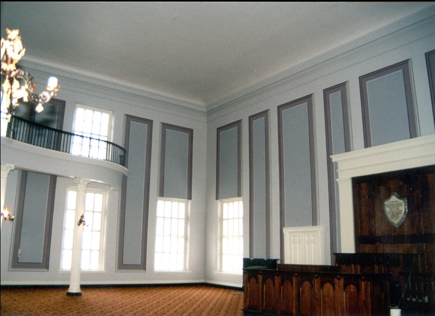 Alabama State Capitol - House Chamber with restored historic decorative scheme