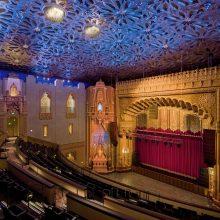 Fox theater after plaster restoration