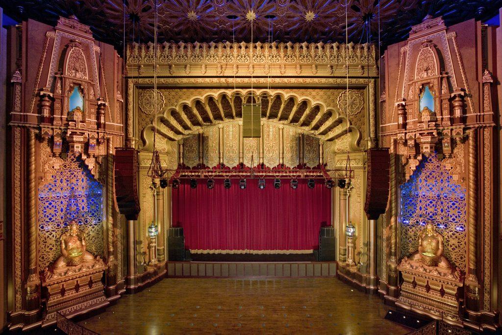 fox theatre stage after restoration
