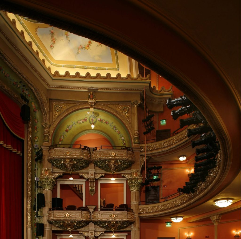 Colonial Theatre interior after restoration