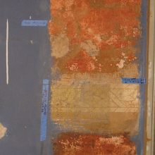paint study and analysis for plaster restoration and refinishing