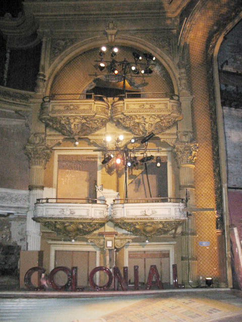 theater interior after restoration