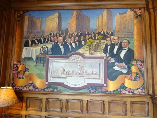 new mural design at the Broadmoor Hotel
