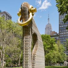 Martin Puryear's Big Bling - New York, NY | Photography by Yasunori Matsui