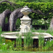 Dumbarton Oaks Fountains - Washington, D.C. | Copyright EverGreene Architectural Arts