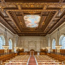New York Public Library - Rose Reading Room - New York, NY | Photography by Max Touhey