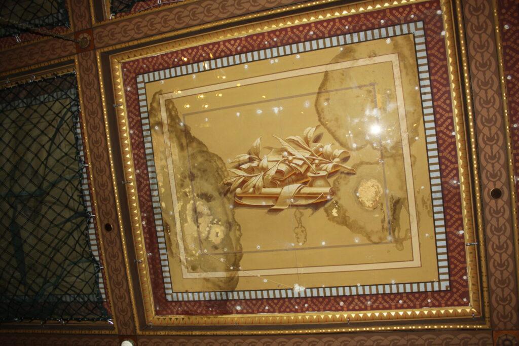 Thomaston Opera House Ceiling