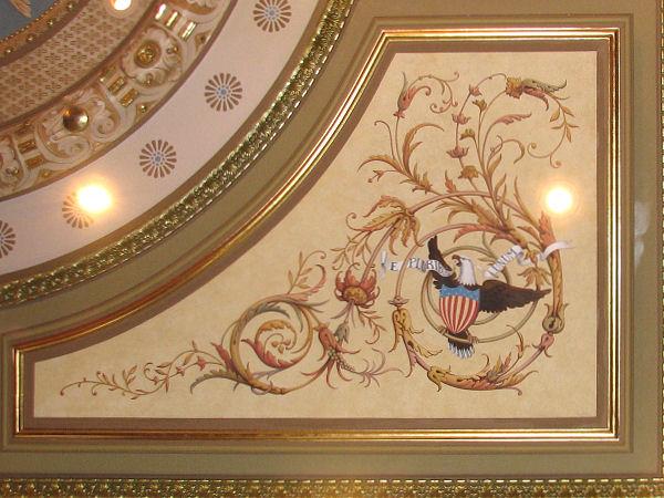 Il St Cap - Ceiling Detail