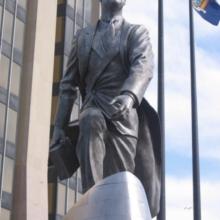 original silver nitrate patina of bronze statue
