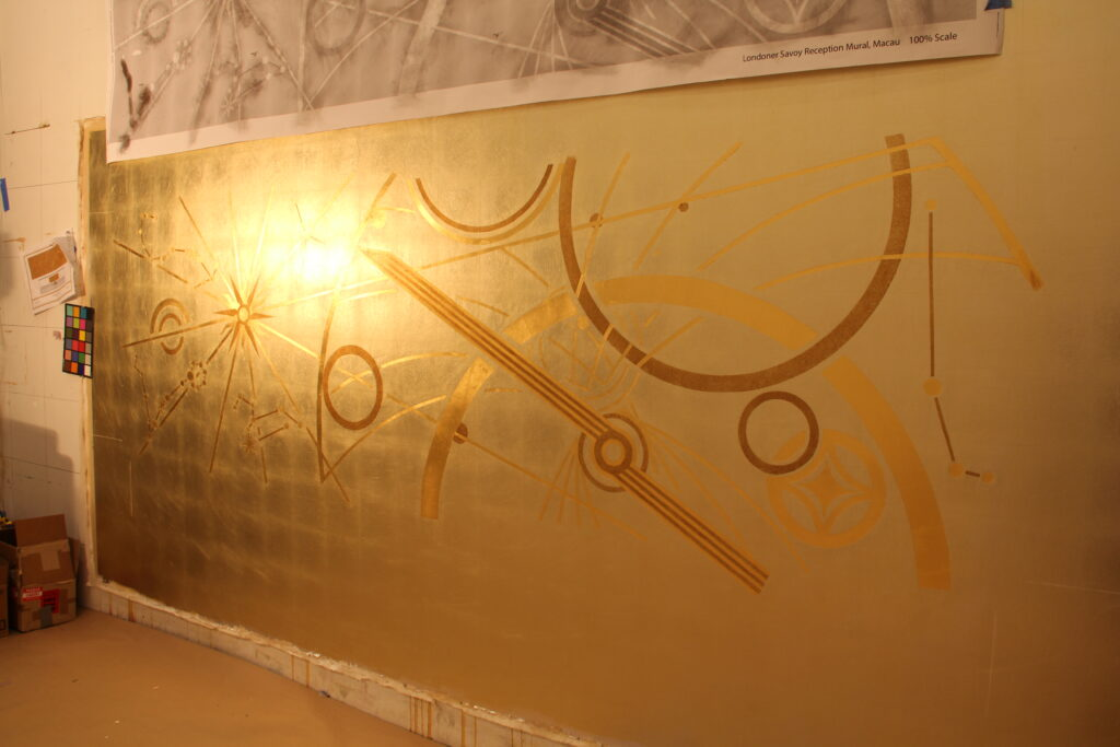 Macao Reception Mural