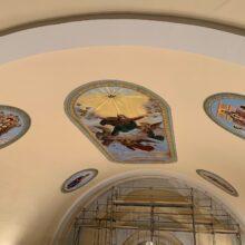 St. Vincent de Paul Final Ceiling Mural
