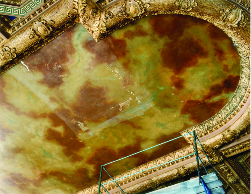 Ceiling Before Conservation