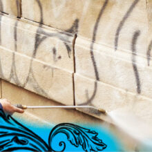 Graffiti removal or preservation? Varying materials require diverse responses and customized cleaning or conservation treatments.