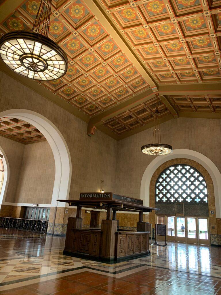Los Angeles Union Station Entry Vesitibule