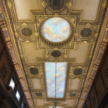 New York Private Club Ceiling murals
