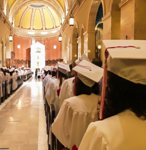 Graduation at St. Cecilia's Cathedral
